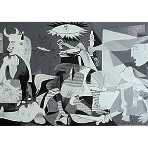 Guernica Pablo Picasso Kunstdruck Poster 12084 (A3-A4-A5) – A3