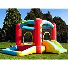 BeBop Balloon Castillo Hinchable para Niños con Tobogán