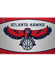 Atlanta Hawks Team Logo RP13760 Empire Merchandising Poster NBA Basketball