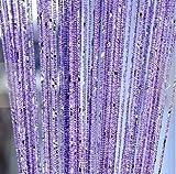 Dekorative tür fadenvorhang Blind-teiler kristall quaste bildschirm Wand-panel fransen fenster raumteiler 1 m * 2 m-A 100x200cm(39x79inch)