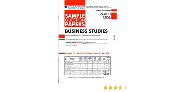 Oswaal cbse sample question papers for class 11 business studies mar oswaal cbse sample question papers for class 11 business studies mar2018 exam amazon panel of experts books malvernweather Gallery