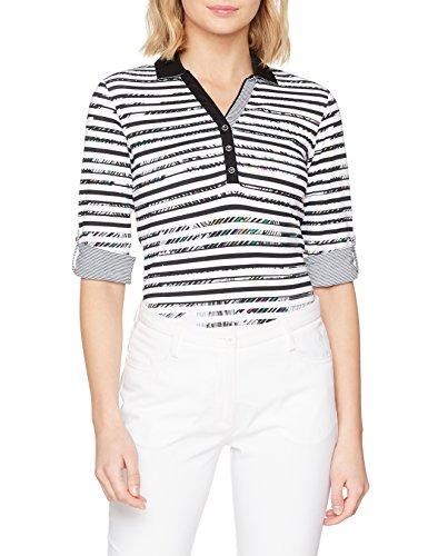 BRAX Golf Sophie 68-4557 Polo, (Noir 02), 42 (Taille Fabricant : L) Femme