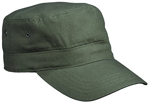 mb-premium-army-cap-military-style-hat-11-colours-mb095-olive-green