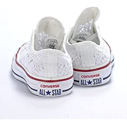 Converse Las Mujeres de Bajos Zapatillas de Deporte 549314C CT ESPECIALIDAD de Buey Blanco Talla 36 Color Blanco