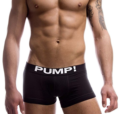 PUMP! Herren Boxershorts CLASSIC 11000-02, schwarz Classic Pump