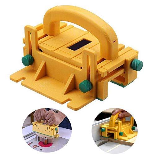 L&U Advanced 3D Pushblock, Chargeur de pousseur de Bloc de Bois de sécurité, pour Machine de Gravure Flip-Chip, Outil de fraisage de Plans de Travail