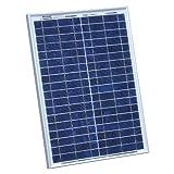 Photonic Universe Solarpanel, 20W 12V, mit 2m Kabel für Wohnmobil, Wohnwagen, Boot oder für jedes andere 12V-System (20Watt)