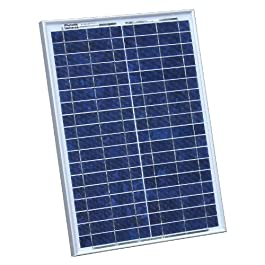20W Photonic Universe solar panel with 2m cable for a motorhome, caravan, campervan, boat or any other 12V system (20 watt)