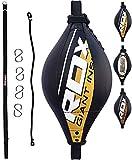 RDX Double Vitesse Balle De Balle Maya Cacher Cuir Boxe Dodge Gear Sac Poinçonnage MMA Formation Formation Au Sol À La Corde De Plafond
