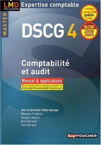 Comptabilité et audit : Manuel et applications (Ancienne Edition)