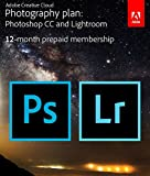 #10: Adobe Creative Cloud Photography Plan with 20 GB : Photoshop CC + Lightroom CC | 1 Year Licence | Online Invite & Download(CD)