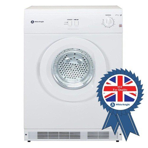 White Knight C44A7W 7KG Vented Tumble Dryer