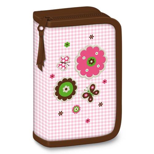 11tlg. Schmetterling Schulranzen Set Schmetterling Schulranzen+Brotdose+Flasche+Federmappe+Federtasche+Stickers+Turnbeutel 2016 - 6