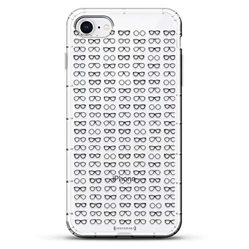 Luxendary Designer, 3D-Druck, modisch, hochwertig, Air-Pocket Kissen, Formen & Muster: Mini-Brillen-Design, farblos