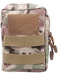 Generic 600D Fabric-Waterproof Bag Molle Pouch Belt Waist Pack Bag Waist Fanny Phone Canvas-parent