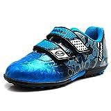 Tiebao Garçons Apprécié Multicolore Scratch Chaussures de Football Futsal...