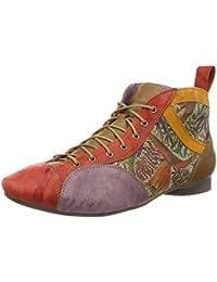 Think Shua F 1/2, Chaussures de ville à lacets pour femme - - rosa/kombi, 39 EU