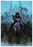 Poster Sylvanas Windrunner - Queen of the Forsaken World of Warcraft A3 (42x30 cm) B