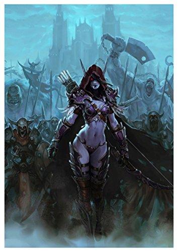 World of Warcraft – Sylvanas Windrunner & Horde Poster