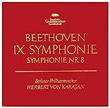 9. Symphonie und 8. Symphonie. Herbert von Karajan. Tulip Stereo