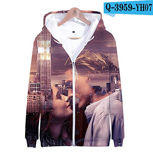 jiuyaomai Sweatshirt Hunter 3D Zipper Sweater E Style - Alien Hunter Kostüm