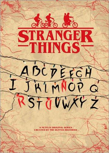 Póster 50 x 70 cm: Stranger Things - Minimal TV show fanart alternative de HDMI2K - impresión artística de alta calidad, nuevo póster artístico