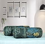 #6: Salona Bichona 100% Cotton Bolster Cover Set of 2