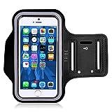 Tribe AB40resistente al agua brazalete deportivo con titular de la clave para 4,7iPhone 6S/6/5/5S/5C, Galaxy S4+ Protector de pantalla–color rosa oscuro