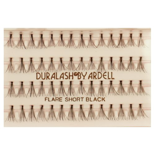 (3 Pack) ARDELL DuraLash Flare Lashes - Flare Short Black