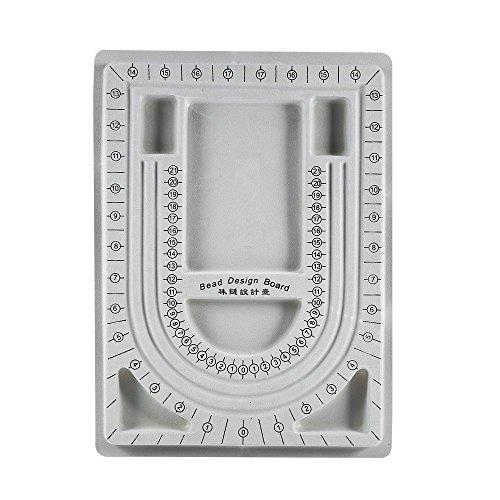 Bead Board Halskette aufreihmaterialien Jewelry Organizer Tablett Design DIY Craft Werkzeug (Bead Design Board)
