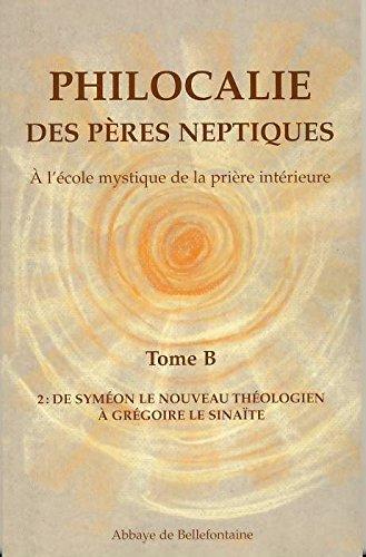 Philocalie des Peres Neptiques T.B2