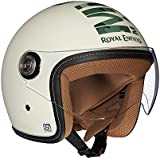 Royal Enfield RRGHEI000074 HES16014 Open Face Helmet (Off-White, XL)