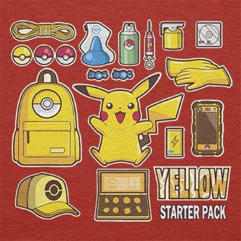 TEXLAB - Yellow Poke Pack - Damen Kapuzenpullover Rot