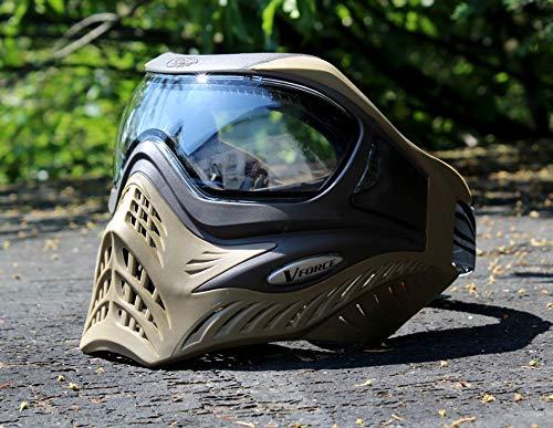 VForce Grill Paintball Maske Coyote klares Thermal Glas -