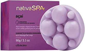 O Boticario Nativa Spa Açaí Soap Bar, 90g