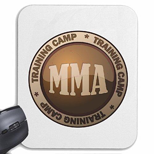 Reifen-Markt Mousepad (Mauspad) Training Camp MMA MMA Mixed Material Arts Fight Club STREETFIGHT Kickboxen Karate Judo Boxen für ihren Laptop, Notebook oder Internet PC (mit Windows Linux usw.) in We - Club-camp-shirt