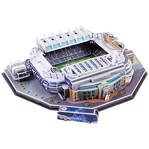 JUMOWA Fußballstadion Puzzle, Fußballstadion 3D Spielzeug für Kinder