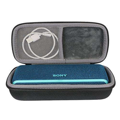Étui de Voyage Rigide Housse Cas pour Sony SRS-XB21 Enceinte Portable sans Fil Bluetooth Waterproof par co2CREA (Noir)