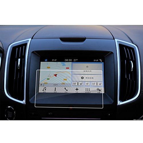 LFOTPP Ford S-Max/Galaxy/Edge 8 Zoll Navigation Schutzfolie - 9H Kratzfest Anti-Fingerprint Panzerglas Displayschutzfolie GPS Navi Folie
