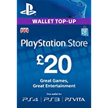 PlayStation PSN Card 20 GBP Wallet Top Up | PSN Download Code - UK account