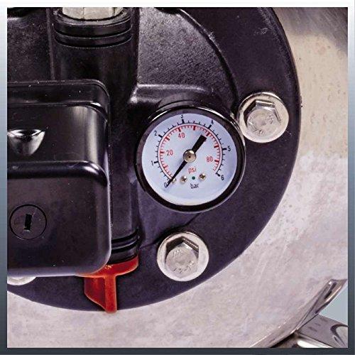 Einhell Hauswasserwerk GC-WW 1250 NN (1200 W, 5000 L/h Max. Fördermenge, Max. Förderdruck 5 bar, Druckschalter, Manometer, 20 L Behälter) - 3