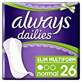 Always Dailies Slim Multiform Panty Liners, Super Saving Box, Pack of 208