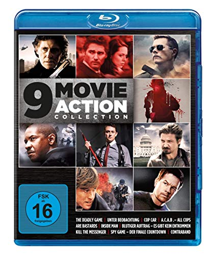 9 Movie Action Collection - Vol. 2 [Blu-ray]