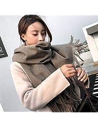 Good dress Élégantes Dames Unisexes Hommes Femmes Couleur Chaude Et Pure  Long Automne Et Hiver Cadeau de Foulard Multifonctionnel en… 42172ac6df8