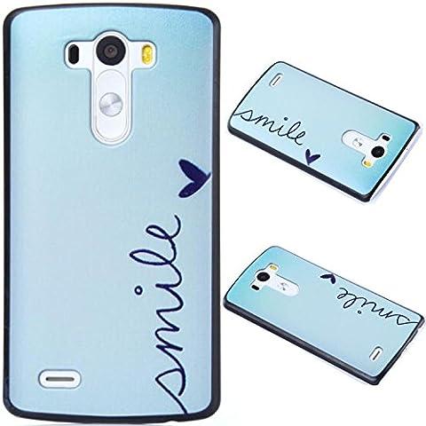 Mobilefashion Hartschale Tasche Schutzhülle Hülle Case für LG G3 D855 5.5 inch (A mile X)