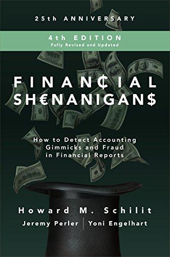 Financial Shenanigans Epub