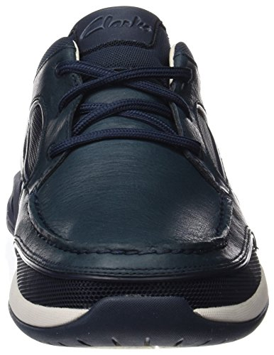 Clarks Herren Ormand Sail Bootsschuhe Blau (Navy Leather)