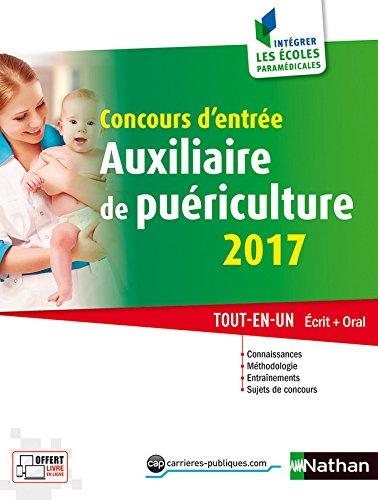 Concours d'entre Auxiliaire de puriculture 2017
