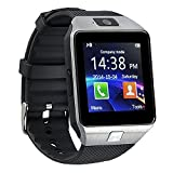 GZDL Bluetooth Smart Watch dz09 Smartwatch GSM SIM Karte mit Kamera für Android iOS (Silber)