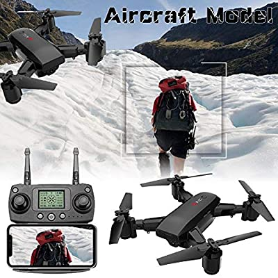 Starter Drone -GPS Folding Drone Aerial Photography HD Professional Aircraft | Intelligent Positioning Auto Follow Remote Control Aircraft